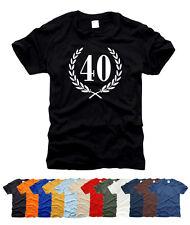 40. Geburtstag Jubiläum - T-Shirt, Gr. S bis XXL