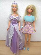 Mes-26802 Barbie 1998 2 st. princesse, chic, de collection résolution,