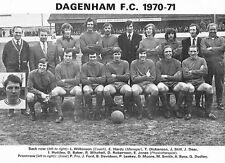 Dagenham Calcio della foto > 1970-71 Stagione
