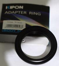 Adapter ring for Nikon D5100 D3100 D7100 D5000 D5200 D800 D600  52mm Reversing