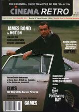 CINEMA RETRO ISSUE #23 JAMES BOND HATARI! ELVIS PRESLEY BRITISH EROTIC FILMS