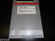 Werkstatthandbuch Audi A6 C5 Motronic Einspritzanlage Zündanlage 4 Zyl. AJP 1998