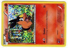 PROMO POKEMON MAC DO 2011 MCDONALD'S W&B CARD HOLO N°  3/12 TEPIG