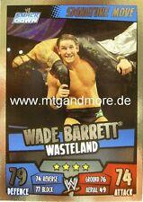 Slam Attax Rumble - Wade Barrett Wasteland - Signature Move