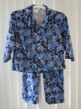 Boys Pajamas Sleepwear Long Sleeve Button Top Skiers  NWOT XS