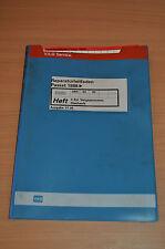 VW Passat 1988 4Zylinder Vergaser Mechanik Werkstatthandbuch Reparaturleitfaden