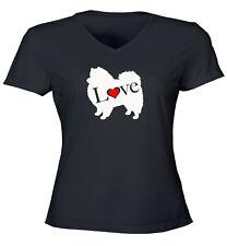 I Love Pomeranian Pom Zwergspitz Spitz Juniors Tee T-Shirt Cute Dog Lover Gift