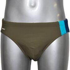 JOCKEY Herren Badehose Sport Slip Swimmwear Bademode dusty olive