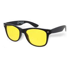 Lakeland Active Low Light Driving Glasses Yellow Lens Wayfare UV400 Night Vision