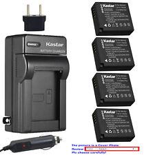 Kastar Battery Travel Charger for Panasonic DMW-BLE9 DMW-BLG10 & Lumix DMC-GF3