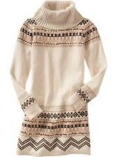 Gap kids girls winter sweater dress tunic first light north & moon holiday 6/7
