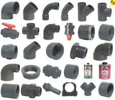 PVC Fittinge, 25 mm, Kugelventil, Winkel, Bogen, Verschraubung, Muffe, Rohr