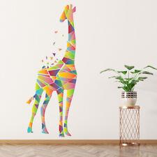 Geometrische Giraf Muursticker WS-44142
