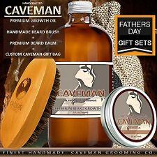 Caveman® FACIAL HAIR GROWTH CREAM OIL GROW MUSTACHE BEARD GROWTH SIDEBURNS