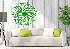 Wall Vinyl Decal Mandala Yoga Meditation Hinduism Home Interior Decor z4629