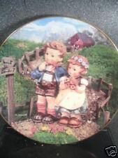 Hummel Danbury Mint  COUNTRY CROSSROADS 1990 Ltd Ed Plate MIB