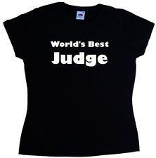 World's Best Judge Ladies T-Shirt