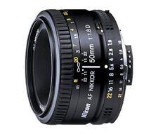 Nikon DSLR Cameras AF 50mm f/1.8D Lens 50 mm Minimum Distance 1.5 Ft. FX NIKKOR