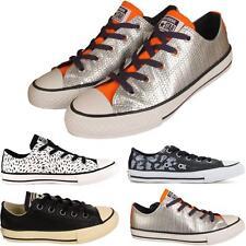 Mujer señoras Nuevas con Cordones All Star Converse CT Niñas Zapatillas Zapatos Tallas UK 3-8