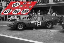 Calcas Ferrari 250 GT SWB Breadvan Le Mans 1962 16 1:32 1:24 43 18 decals