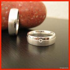1 Paar Eheringe, Freundschaftsringe, Verlobungsringe in 925er Silber, HH-B677/6