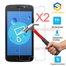 2Pcs 9H+ Premium Tempered Glass Screen Protector For Motorola Moto E4 / E4 Plus