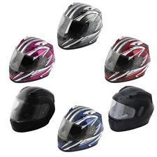 Raider Octane Full Face Motorcycle Helmet Street Bike DOT/ECE Approved