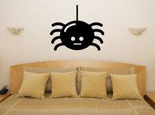 CARTOON Spider scarey SPOOKY Halloween Camera Da Letto Decalcomania Muro ARTE Adesivo FOTO