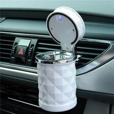 De luxe Portable LED Lumière Cendrier De Voiture Universel Cigarette Cylindre