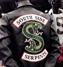Riverdale Southside Serpents Faux Leather Jacket Sold Out Exclusive Mens  L XL