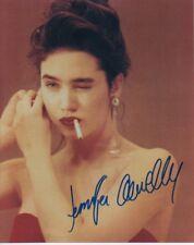 JENNIFER CONNELLY original signed color 8x10 w/ COA