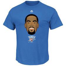 Kevin Durant Oklahoma City Thunder NBA Mens Emoji T- Shirt Blue