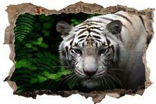 Tiger Weiss Tier Wildlife Wandtattoo Wandsticker Wandaufkleber D0060