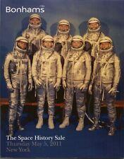 BONHAMS SPACE Apollo Soyuz Mercury Vostok Gemini Mir Auction Catalog 2011