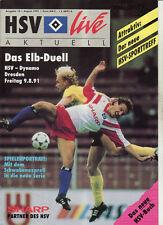 BL 91/92 Hamburger SV - Dynamo Dresden