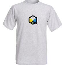 Nintendo Panasonic Q Gamecube DVD Player Logo 100% Cotton Graphic T-Shirt