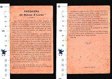 PREGHIERA ALLA MADONNA DI LOURDES - COMPOSTA DA MGR.F.S.SCHOEPER VESCOVO- 27735