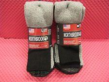 NORTHBROOK MERINO WOOL BLEND MOISTURE WICKING SOCKS 2 PACK!!