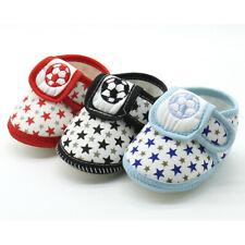 Infant Unisex Baby Soft Sole Prewalker Casual Cotton Flats Anti-slip Shoes UU