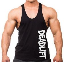 Graffiti Deadlift Stringer Tank Shirt Beast Muscle Gym Workout Bodybuilding V105