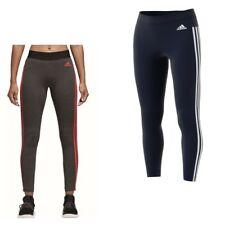 adidas ESS 3S Streifen Damen Sport Hose Sporthose Fitness Tight Fitnesshose