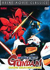 MOBILE SUIT GUNDAM CHAR'S COUNTERATTACK R1 DVD ANIME MOVIE CLASSICS