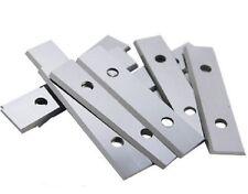 """10pcs 50mm 2"""" Carbide Scraper Blades To Suit Linbide/Stanley Hand Held Scrapers"""