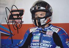 Leon Camier Suzuki Signed 5x7 Photo 2012 4.