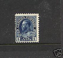 Canada  111   Mint  NH   catalog  $300.00