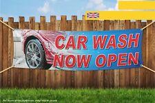 Car Wash Now Open Heavy Duty PVC Banner Sign 3625
