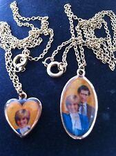 Ausverkauf Restposten 36 Paar Prinzessin Diana Halsketten Clearance nur 40p ein Paar