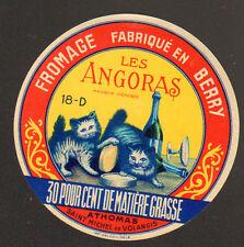 SAINT-MICHEL-de-VOLANGIS (18) FROMAGE ANGORAS .ATHOMAS