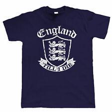 England 'Till I Die Mens T Shirt - Football Rugby Cricket Patriotic