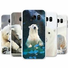 Polar Bears Snap-on Hard Back Case Phone Cover for Samsung Mobile Phones